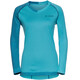 VAUDE Moab II - Maillot manches longues Femme - turquoise